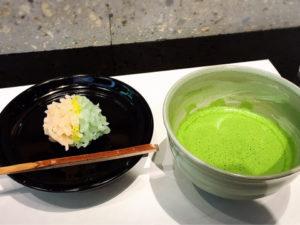 和菓子‗抹茶‗カウンター‗コレド室町‗日本橋‗職人‗パーソナルトレーナー