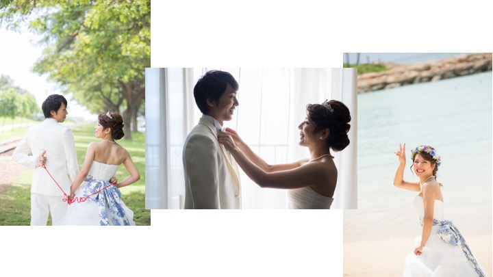 プレ花嫁|ウェデイングドレス|大森