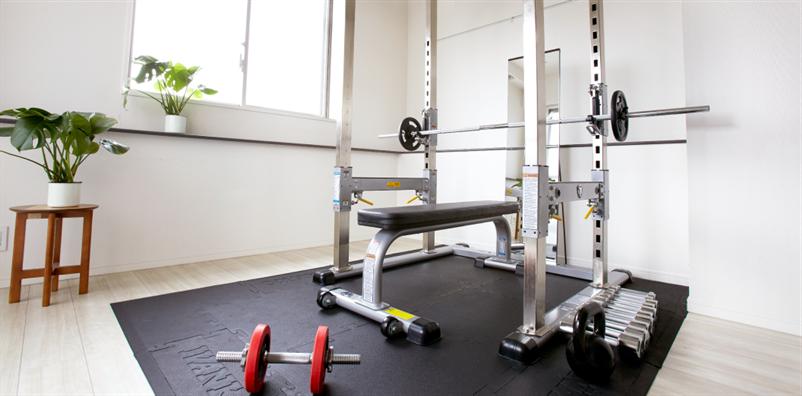 ダイエット&ボディメイクの大森スタジオ、ウェイトトレーニングで痩せる空間