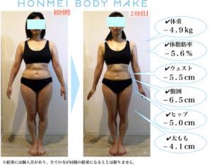 お腹痩せ|二の腕痩せ|ダイエット|パーソナル|大森