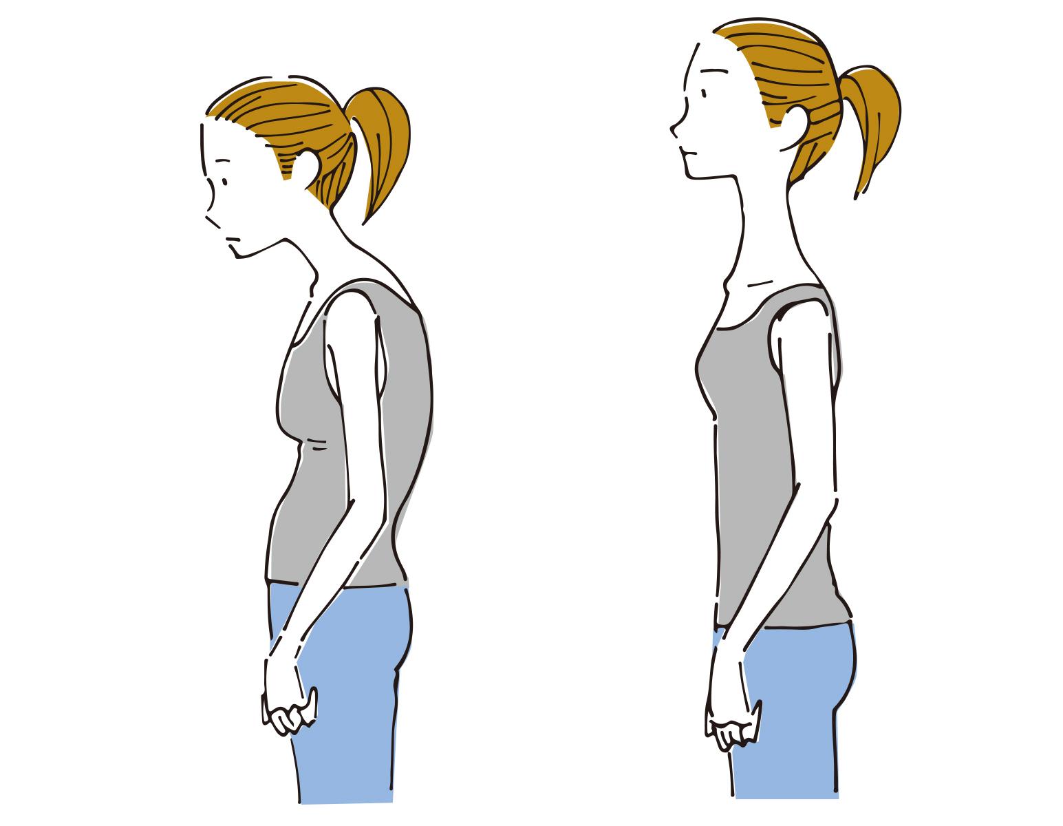 姿勢改善を大森のパーソナルトレーニング