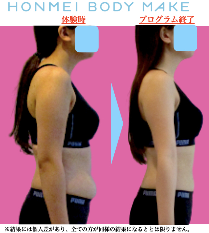 大田区大森のパーソナルトレーニングでダイエット